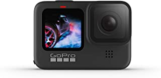 GoPro HERO9 Black - Waterproof Action Camera with Front LCD and Touch Rear Screens, 5K Ultra HD Video, 20MP Photos, 1080p ...