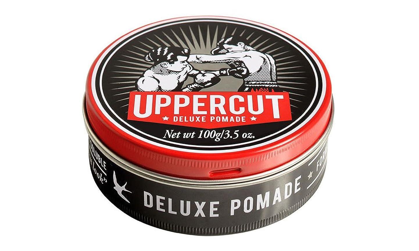 アルファベット順ピボット圧力UPPERCUT DELUXE(アッパーカットデラックス) DELUXE POMADE 水性ポマード グリース 男性用 ツヤあり 香りココナッツ 100g