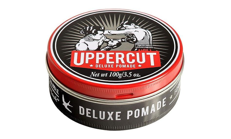 補足資本主義歩道UPPERCUT DELUXE(アッパーカットデラックス) DELUXE POMADE 水性ポマード グリース 男性用 ツヤあり 香りココナッツ 100g