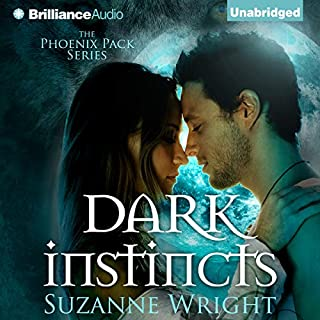 Dark Instincts     Phoenix Pack              Written by:                                                                                                                                 Suzanne Wright                               Narrated by:                                                                                                                                 Jill Redfield                      Length: 11 hrs and 11 mins     12 ratings     Overall 4.8