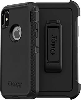 OtterBox DEFENDER SERIES SCREENLESS EDITION Case for iPhone Xs & iPhone X - Frustration Free Packaging - BLACK