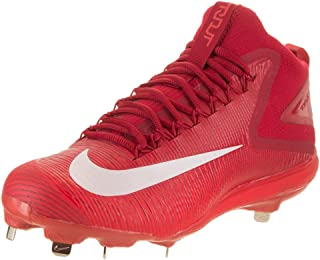 Nike New Zoom Trout 3 Baseball Metal Cleats Crimson/White/Red - Pick Size