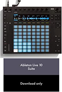 Ableton Push 2 + Live 10 Suite Bundle + FREE Ableton T-shirt