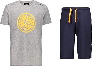 CMP T-Shirt And Shorts 100% Cotton, Tuta Bambino