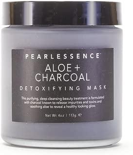 Pearlessence Clay Detoxifying Face Mask Aloe + Charcoal