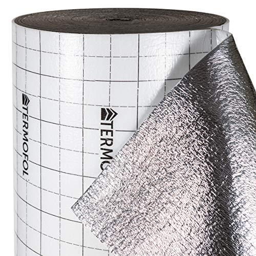 Wärmedämmung 5 mm Laminat Teppichunterlage Fußbodenheizung Film