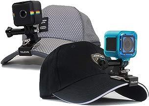 telesin Universal Muti-Functional Hebilla de liberación rápida Clip de Mochila, Mochila de 360Grados Clip, Potable Sombrero Clip