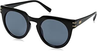 Item 8 Bg.8 Round Black Women's Designer Sunglasses by Foster Grant
