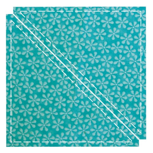 GO! Fabric Cutting Dies-Triangle 6-1/2 Quilt Block C