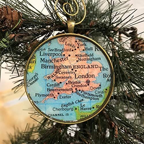 England London Christmas Ornament