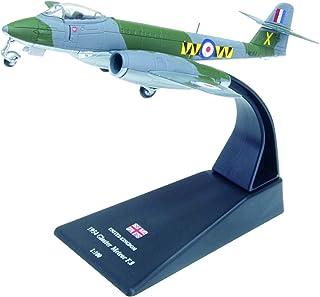 Gloster Meteor F.8 diecast 1:100 aircraft model (Amercom SL-43)