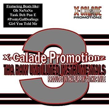 Tha Raw Undiluted Instrumentals 3
