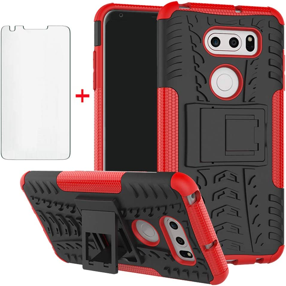 Phone Case for Max 65% OFF LG V35 ThinQ Discount is also underway Glass with V30 Tempered Screen Plus