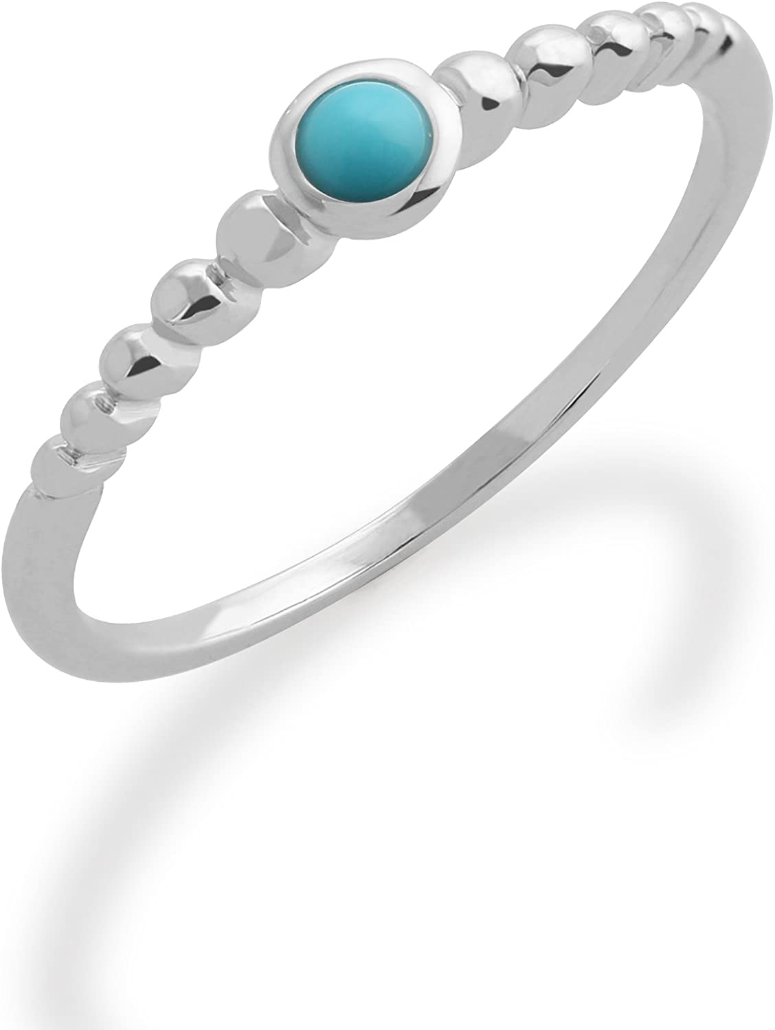 Gemondo Turquoise Ring wholesale 925 Sterling Silver Sta Recommended 0.15ct