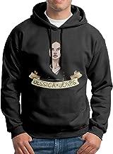 MEGGE Jessica Jones Men's Hooded Sweatshirt Black