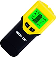 INCH vs CM Stud Finder Wall Scanner - 3 in 1 Multi function Electronic Stud Sensor w Large Digital LCD Display & Warning Sound; Stud Center Finder Detects Metal Wood Joist or Beam & Live AC Wires