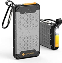 Portable 10000mAh Battery Pack Quick Charge 18W Power Bank Waterproof IP67 with LED Flashlight Portable Charger