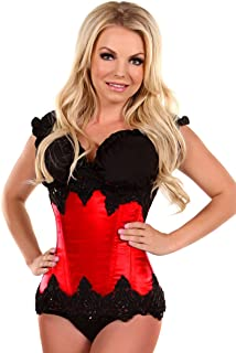 Daisy corsets Women's Top Drawer Beaded Underbust Steel Boned Corset