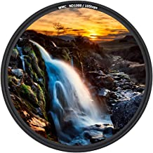 JJC 58mm ND Filter ND1000 10-stop for Canon EOS Rebel T6 T7 T5 T7i T6i T5i T4i SL3 SL2 80D 70D 60D w/ EF-S 18-55mm Kit Lens for Fuji Fujifilm X-T3 X-T2 X-T1 X-T30 X-T20 X-T10 w/ XF 18-55mm Kit Lens