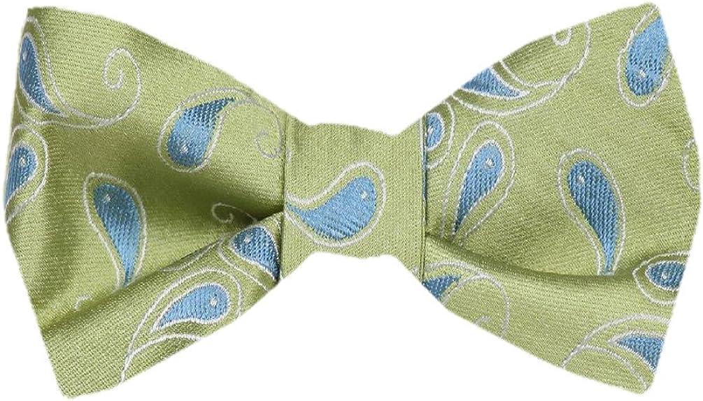 FBTZ-1300 - Men's Silk Self Tie Bowtie Tie Yourself Bow Ties