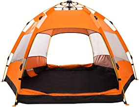 XINQIU 2-3 Person Family Camping Tent, Waterproof Hexagon...