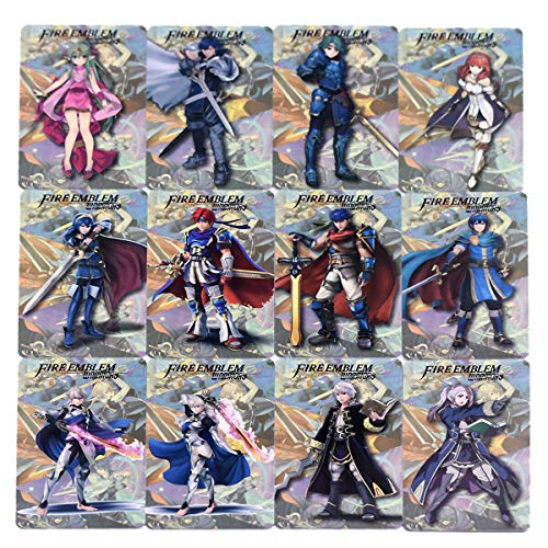 CORN Fire Emblem Three Houses Warriors AMIIBO NFC TAG Cards 12pcs/pack for New 3DS Switch Wii U