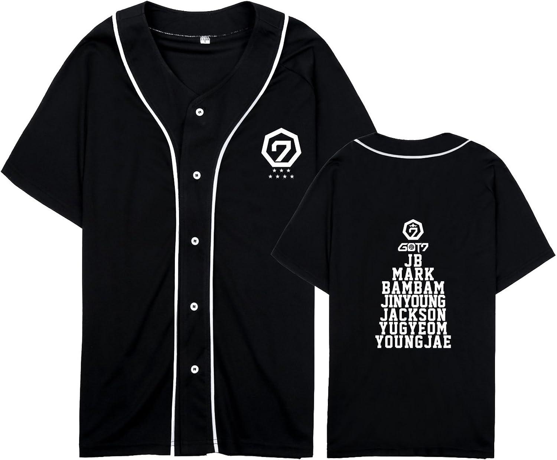 Xllife Kpop GOT7 Hip-Hop Baseball Bambam Max 55% OFF Max 72% OFF Jackson Jersey JB Mark