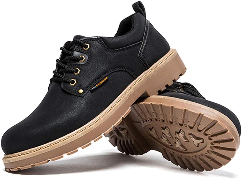LH LH LH Herren-Stiefel Martin Stiefel, Mode-Retro-Casual-Schuhe Sport Outdoor künstliches PU-Material geeignet für Frühling und Winter (schwarz),40  d33bdf
