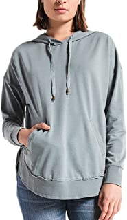 Z Supply ZT164190 The Dakota Pullover Hooded Sweat Shirt in Sea Green