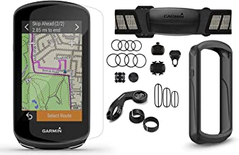 Garmin Edge 1030 Plus Cycle Bundle | with Chest HRM, Speed/Cadence Sensors, PlayBetter Silicone Case & Screen Protectors |...