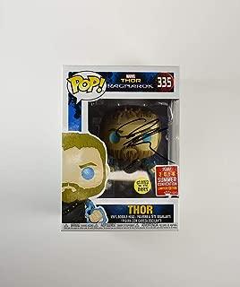 Chris Hemsworth Thor Ragnarok Avengers Infinity War Endgame #335 SDCC Comic-Con 2018 Exclusive Autographed Signed Funko Pop 'GA' Certified Authentic COA