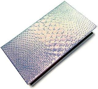 Beaupretty Magnetische oogschaduw make-up palet leeg cosmetisch palet met spiegel lege schaal patroon organisator Pallet Case