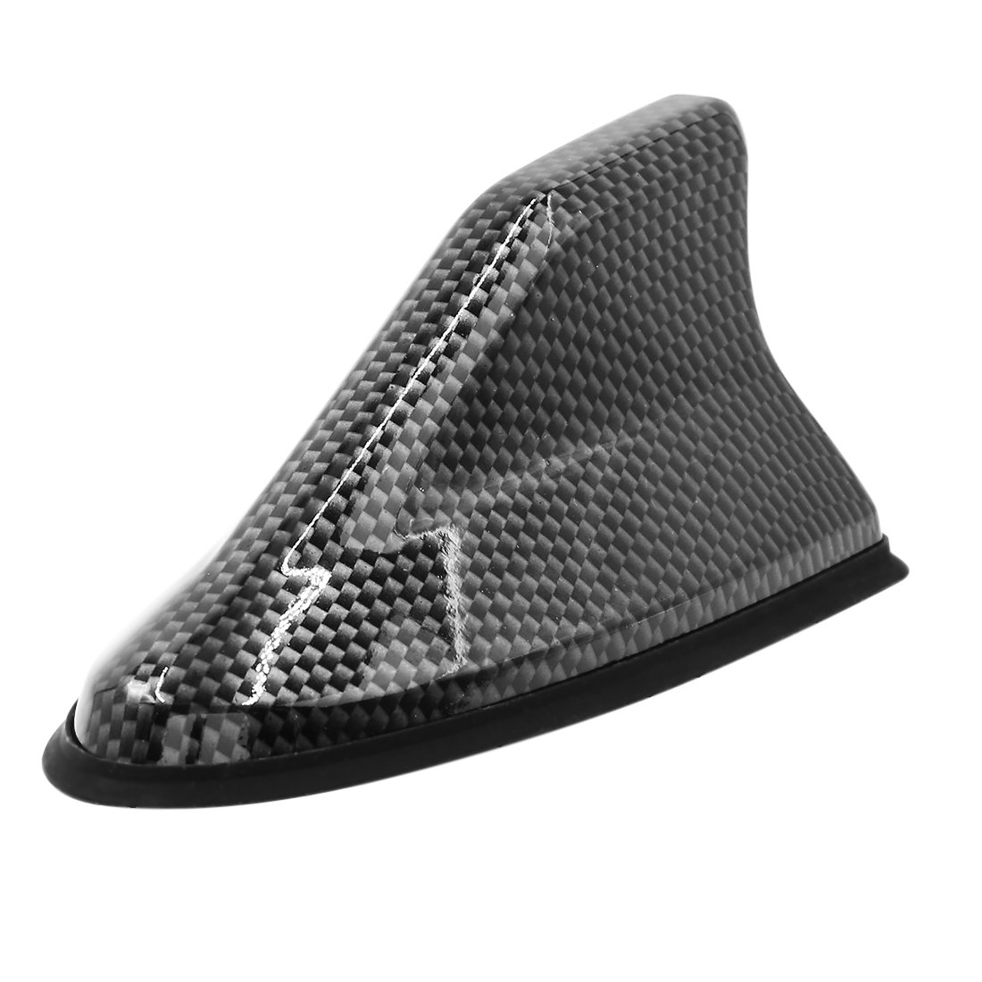 uxcell/® Car Roof Mounted Shark Fin Shaped Antenna Decor Black