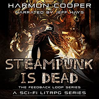 Steampunk Is Dead audiobook cover art