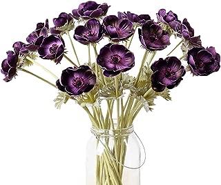 purple anemone flower