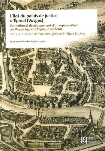 L'îlot du palais de justice d'Epinal (Vosges) : Formation et développement d'un espace urbain au Moyen Age et à l'époque moderne