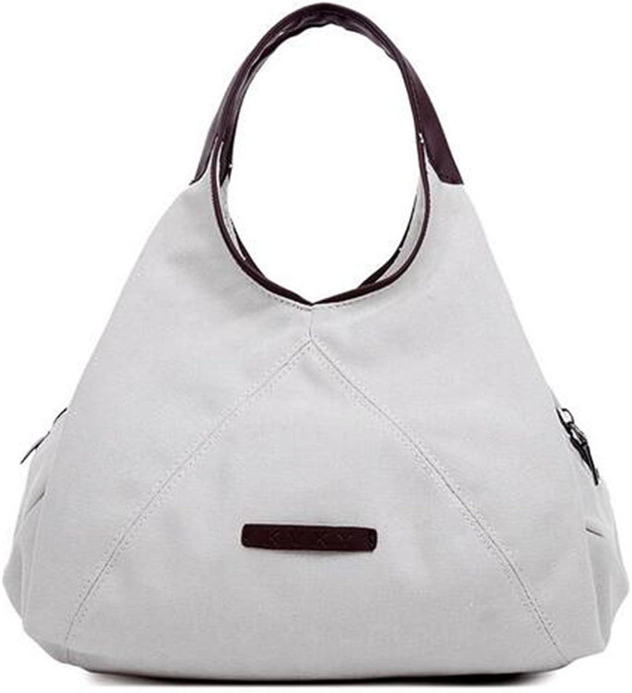 KISS gold(TM) Canvas Casual Hobo Tote Bag Handbag Purse Shoulder Bag