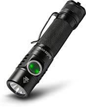 Sofirn SC31 Pro Rechargeable Flashlight 2000 Lumen, Pocket Light with Powerful SST40 LED, Anduril UI for Camping Hiking Fi...