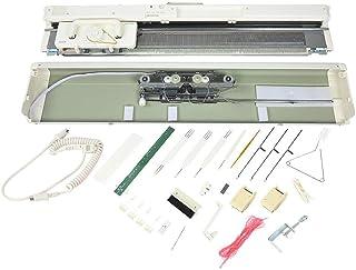 Cadeaux de mai Kit de machine à tricoter, jauge standard de 4,5 mm, accessoires de couture pour tricoteuse électronique à ...