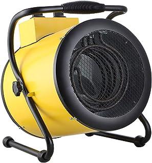 Radiador eléctrico MAHZONG Calentador de Cilindro inclinable de 2kW Calentador de Alta Potencia Calor rápido