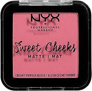 NYX PROFESSIONAL MAKEUP Sweet Cheeks Creamy Powder Blush Matte, Rose & Play 08