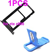 Sim Card Micro SD Tray Holder Slot Repair Replacement for ZTE Grand X Max 2 Z988 + PHONSUN Portable Cellphone Holder