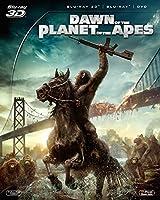 猿の惑星:新世紀(ライジング) 3枚組コレクターズ・エディション (初回生産限定) [Blu-ray]