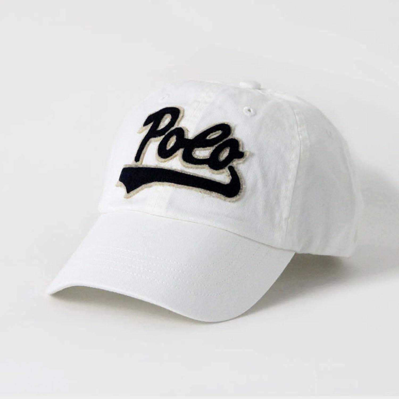 [ポロ ラルフローレン] POLO RALPH LAUREN 正規品 メンズ 帽子 キャップ SCRIPT COTTON CAP 並行輸入品 (コード:4100890501)