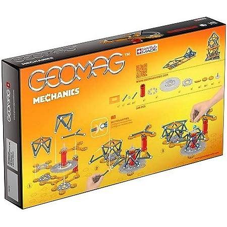 Geomag Mechanics Construcciones magnéticas y juegos educativos, 146 Piezas (722), Multicolor