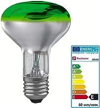 Paulmann 250.63 reflectorlamp R80 60W E27 glas groen 25063 lamp
