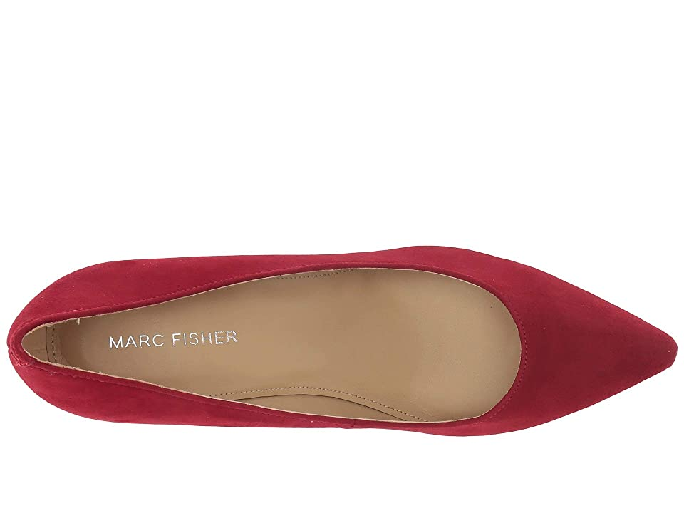 Marc Fisher Claire (Luxe Red Savoy Suede) High Heels