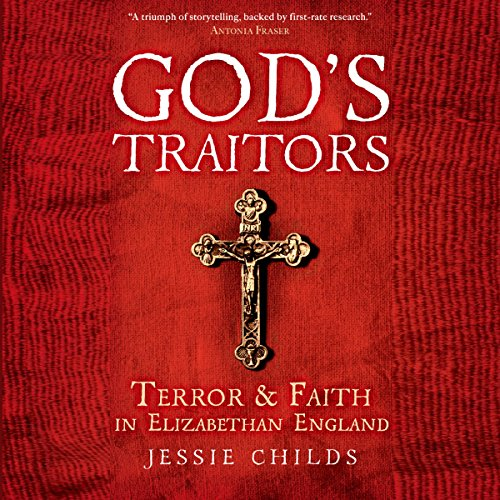 God's Traitors audiobook cover art