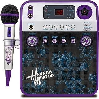 hannah montana karaoke machine