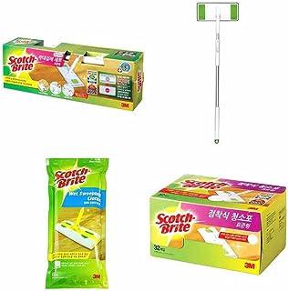 [Scotch-Brite] kit de Tous Les Standard de Contact Lot Mop-Bar (1) étiquette (32) Humide (12)